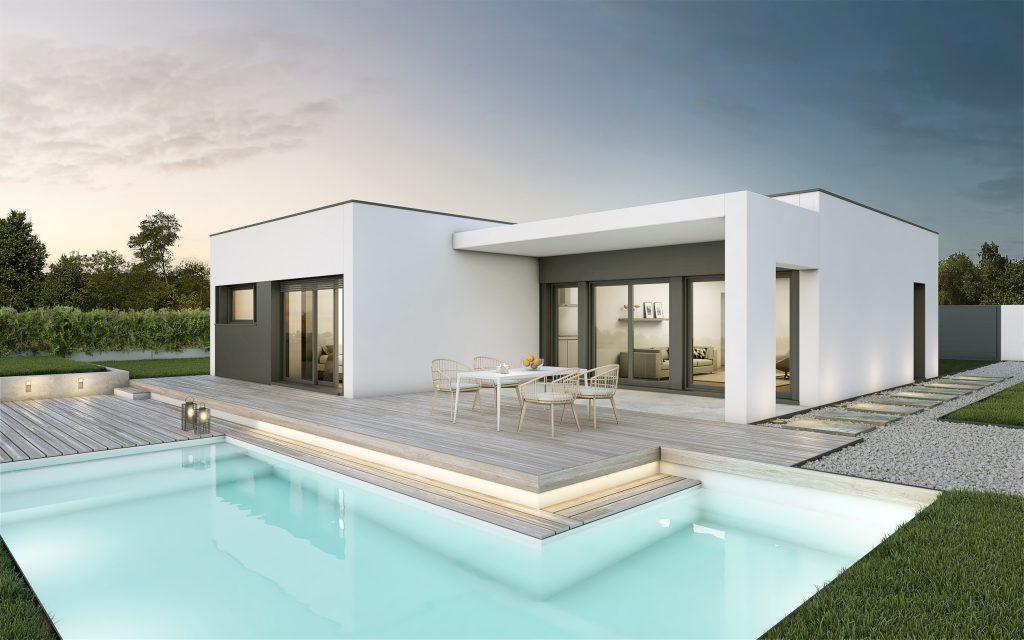Hormipresa casas prefabricadas hormig n precios Planos de casas de 200m2