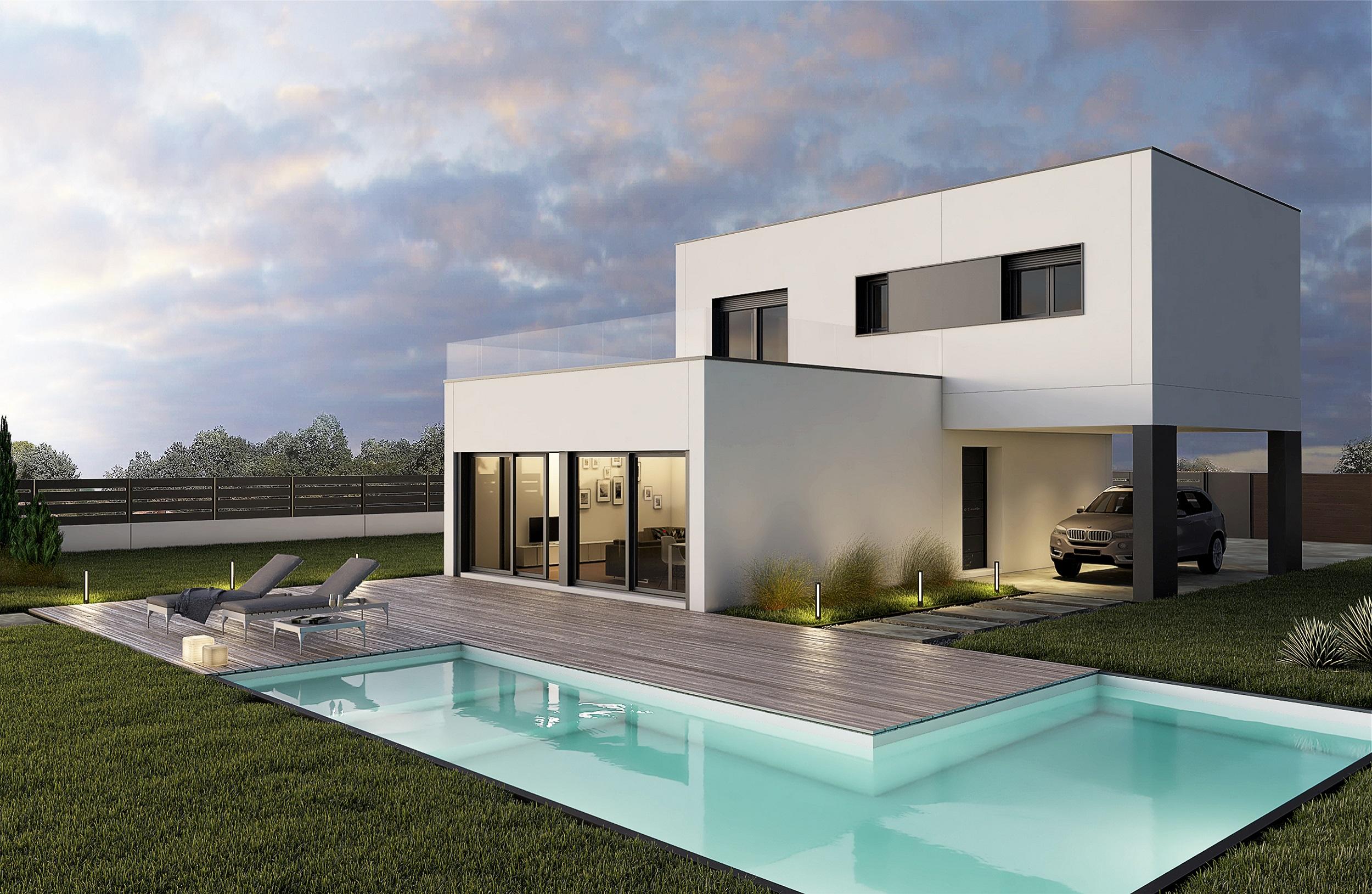 Hormipresa casas prefabricadas hormig n precios for Casa moderna hormigon