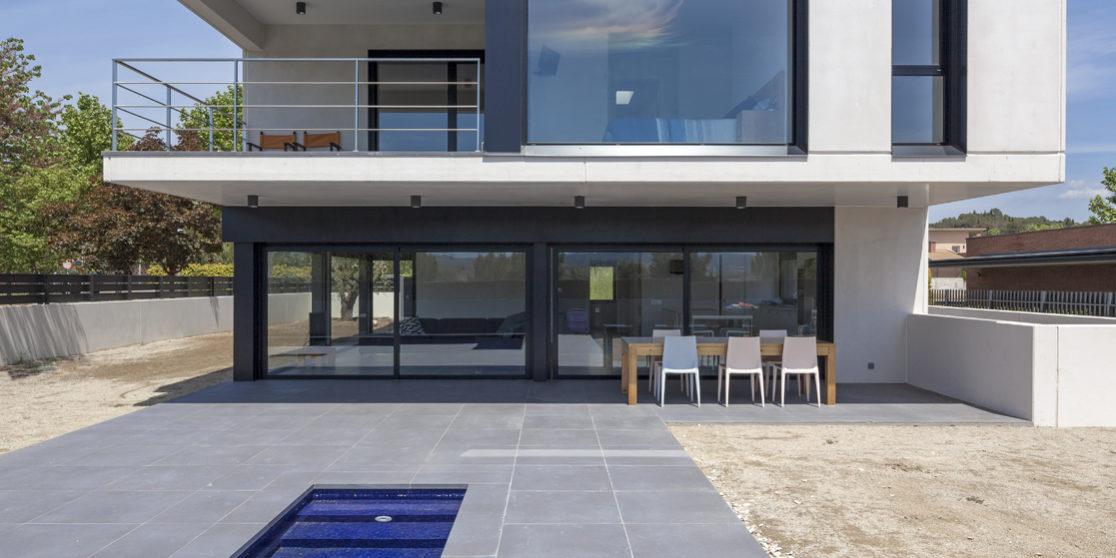 Igualada house casas prefabricadas de hormig n hormipresa - Casas prefabricadas hormigon barcelona ...