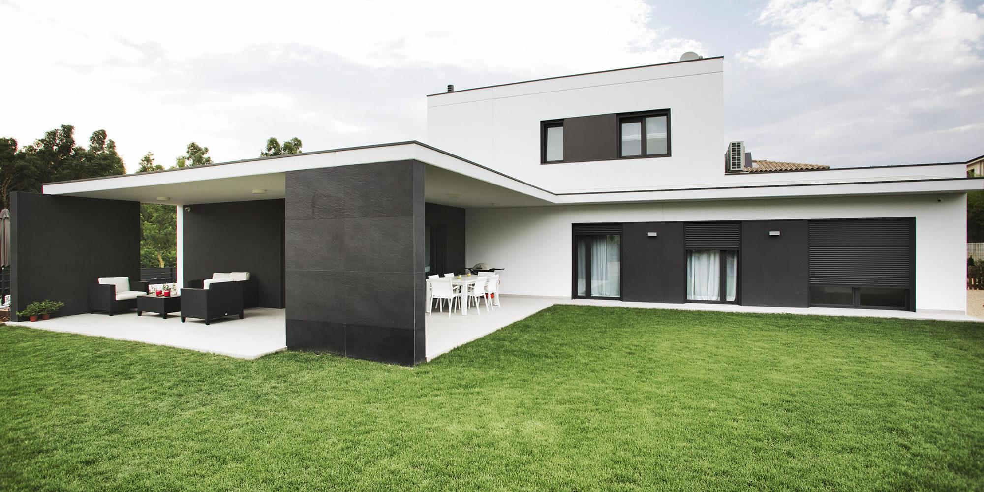 Casa girona 2 casas prefabricadas de hormig n hormipresa - Casas prefabricadas girona ...